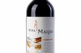 Carmenere. Vina Maipo / Chili, Central valley / Полусухое